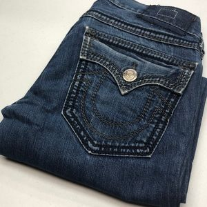 TRUE RELIGION JEANS MADE IN USA DISTRESSED 30x34😎